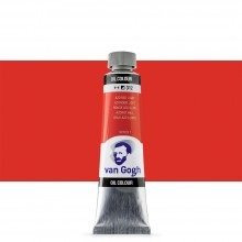 Royal Talens : Van Gogh Oil Paint : 40ml : Azo Red Light S1