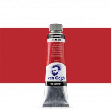 Royal Talens : Van Gogh Oil Paint : 40ml : Azo Red Deep S1