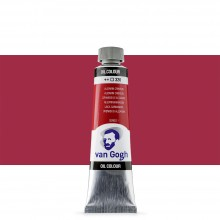 Talens : Van Gogh Oil Paint : 40ml : Alizarin Crimson S1