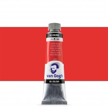 Talens : Van Gogh Oil Paint : 40ml : Azo Red Medium S1