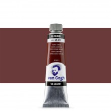 Royal Talens : Van Gogh Oil Paint : 40ml : Burnt Sienna S1