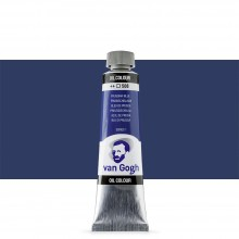 Talens : Van Gogh Oil Paint : 40ml : Prussian Blue S1