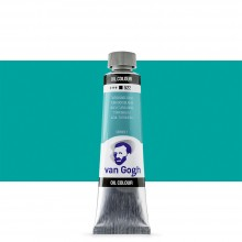 Talens : Van Gogh Oil Paint : 40ml : Turquoise Blue S1
