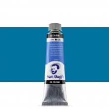Royal Talens : Van Gogh Oil Paint : 40ml : Cerulean Blue (Phthalo) S1