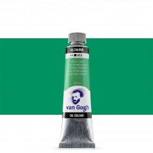 Talens : Van Gogh Oil Paint 40ml : Emerald Green S1