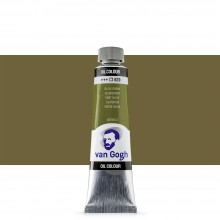 Royal Talens : Van Gogh Oil Paint : 40ml : Permanent Olive Green S2