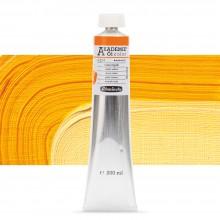 Schmincke : Akademie Oil Paint : 200ml : Indian Yellow