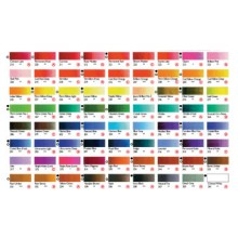 Shin Han : Oil Paint : Printed Colour Chart