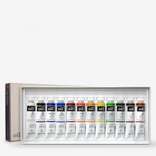 Shin Han : Oil Paint : Set 20mlx12 Colours