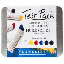 Sennelier : Oil Stick : Test Set