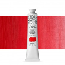 Winsor & Newton : Artists Oil Paint 200ml : Bright Red