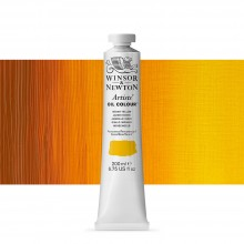 Winsor & Newton : Artists' : Oil Paint : 200ml : Indian Yellow
