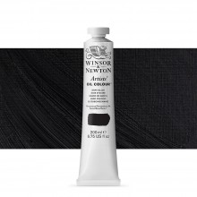 Winsor & Newton : Artists' : Oil Paint : 200ml : Ivory Black