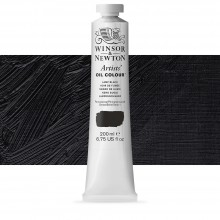 Winsor & Newton : Artists' Oil Paint : 200ml : Lamp Black