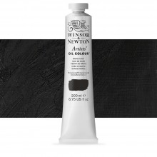 Winsor & Newton : Artists' Oil Paint : 200ml : Mars Black