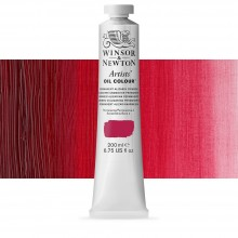 Winsor & Newton : Artists' Oil Paint : 200ml : Permanent Alizarin Crimson