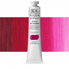 Winsor & Newton : Artists' Oil Paint : 200ml : Quinacridone Magenta