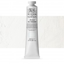 Winsor and Newton : Artists Oil 200ml : UNDERPAINTING WHITE