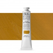 Winsor & Newton : Artists' : Oil Paint : 200ml : Yellow Ochre Pale