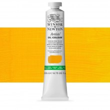 Winsor & Newton : Artists' Oil Paint : 200ml : Cadmium Free Yellow