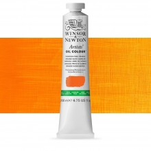 Winsor & Newton : Artists' Oil Paint : 200ml : Cadmium Free Orange