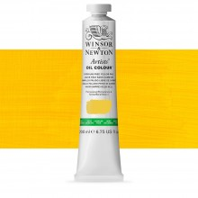 Winsor & Newton : Artists' Oil Paint : 200ml : Cadmium Free Yellow Pale