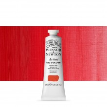 Winsor & Newton : Artists' : Oil Paint : 37ml : Bright Red