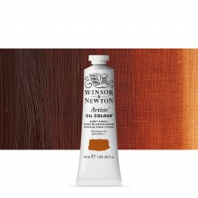 Winsor & Newton : Artists Oil Paint : 37ml Tube : Burnt Sienna