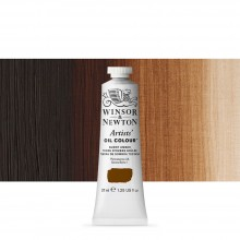 Winsor & Newton : Artists Oil Paint : 37ml Tube : Burnt Umber
