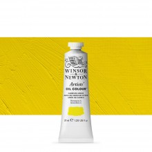 Winsor & Newton : Artists' : Oil Paint : 37ml : Cadmium Lemon