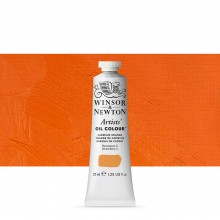 Winsor & Newton : Artists' : Oil Paint : 37ml : Cadmium Orange