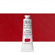 Winsor & Newton : Artists Oil Paint : 37ml Tube : Cadmium Red Deep