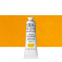 Winsor & Newton : Artists Oil Paint : 37ml : Cadmium Yellow