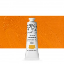 Winsor & Newton : Artists Oil Paint : 37ml Tube : Cadmium Yellow Deep