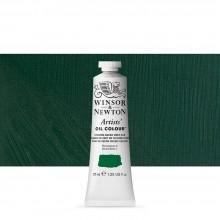 Winsor & Newton : Artists' : Oil Paint : 37ml : Chrome Green Deep Hue
