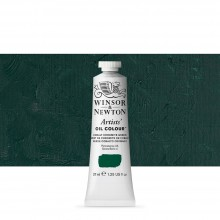 Winsor & Newton : Artists' : Oil Paint : 37ml : Cobalt Chrome Green