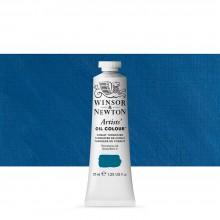 Winsor & Newton : Artists Oil Paint : 37ml Tube : Cobalt Turquoise