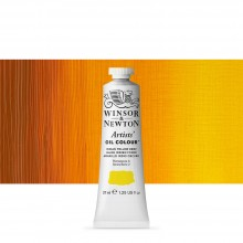 Winsor & Newton : Artists' : Oil Paint : 37ml : Indian Yellow Deep