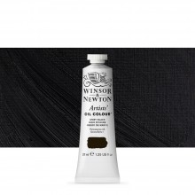 Winsor & Newton : Artists Oil Paint : 37ml : Ivory Black