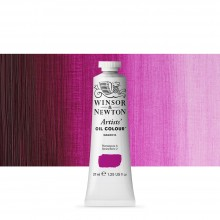 Winsor & Newton : Artists Oil Paint : 37ml Tube : Magenta