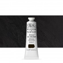 Winsor & Newton : Artists Oil Paint : 37ml Tube : Mars Black