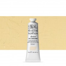 Winsor & Newton : Artists Oil Paint : 37ml Tube : Naples Yellow Light