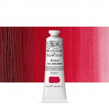 Winsor & Newton : Artists' : Oil Paint : 37ml : Permanent Alizarin Crimson