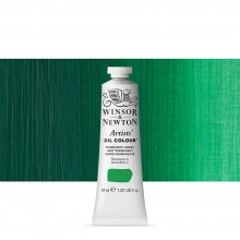 Winsor & Newton : Artists' : Oil Paint : 37ml : Permanent Green
