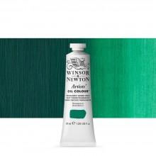 Winsor & Newton : Artists' : Oil Paint : 37ml : Permanent Green Deep
