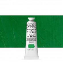 Winsor & Newton : Artists' : Oil Paint : 37ml : Permanent Green Light