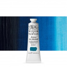 Winsor & Newton : Artists Oil Paint : 37ml : Phthalo Turquoise