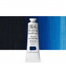 Winsor & Newton : Artists' : Oil Paint : 37ml : Prussian Blue