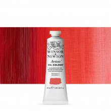 Winsor & Newton : Artists Oil Paint : 37ml Tube : Quinacridone Red