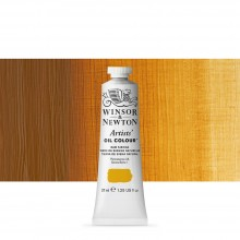Winsor & Newton : Artists Oil Paint : 37ml Tube : Raw Sienna